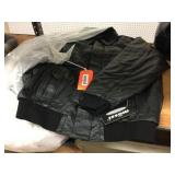 Mossi leather snowmobile jacket size L