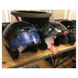 3 helmets size M, L & XXL