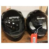 2 Shiro FF helmets size XS