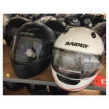 2 Raider FF helmets size XL & L