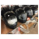3 full face helmets size L & XL, helmet with