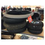 Dolly tires & rims