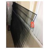 Wire shelf material