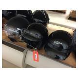 3 helmets size S, L & XL