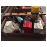 12 ga & 20 ga ammo, gun cleaning kits & assorted