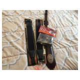 3 gun slings & gun sleeve
