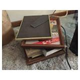 Assorted sized picture frames