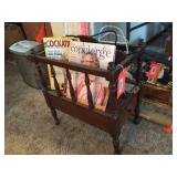 Magazine rack 11x18x19