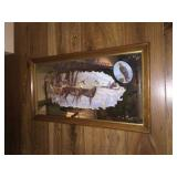 PBR wildlife collection deer mirror 29x15
