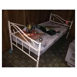 Metal framed day bed
