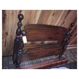Full size headboard, footboard & rails