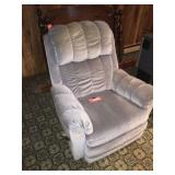 Recliner showing wear