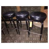 3 swivel bar stools 30 inches