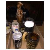 Boylans original birch beer bottle & assorted