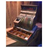 National Cash register with keys missing some