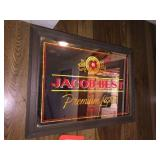 Jacob Best lighted sign