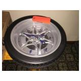 Tire clock 13 inch diameter