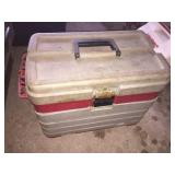 Plano tackle box & assorted tools