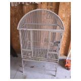Large bird cage on stand 30x18x54