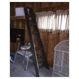 8 foot wood step ladder