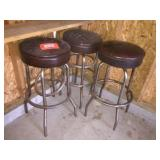 3 bar stools 30 inches tall