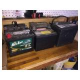 6 batteries