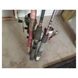 Fishing poles & reels