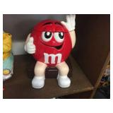 M&M covered cookie jar