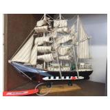 Sailboat decorator 12 inches x 11 inches