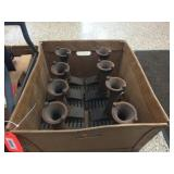 Cast iron burner tubes