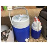 2 water coolers