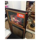 Framed decorator picture & frames
