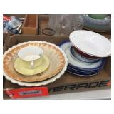 Assorted plates & bowls