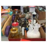 Assorted decorators & covered jars