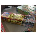 Box of Topps 1991 baseball cards