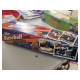 Box of Topps 1993 baseball cards