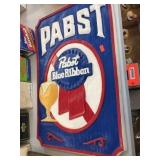Pabst Blue Ribbon sign 13x19