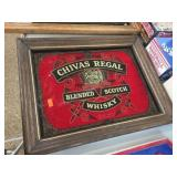 Chivas Regal whisky mirror 14x11