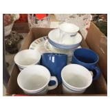 Assorted Corelle china
