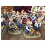 Denim Days by Homco figurines