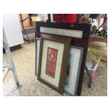 Framed decorator pictures
