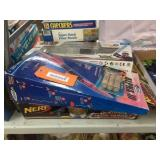 Rocket, nerf game missing gun