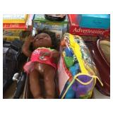 Doll & jungle alley discovery toys
