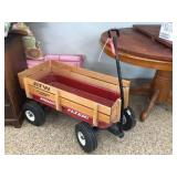 Radio Flyer wagon with stake sides 35x17x20