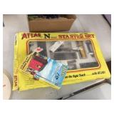 Atlas HO scale train related