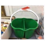 Green divides pail