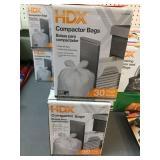2 NIB 18 gallon compactor bags