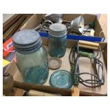 Canning jars & related