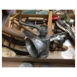 Meat grinder/chopper & assorted