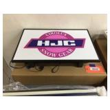 HJC lighted sign 22x14